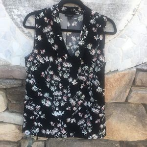 Ann Taylor Factory - Patterned Sleeveless Blouse